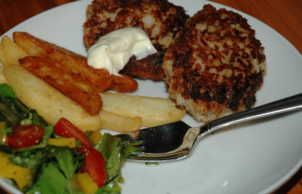 cooked Fishcakes