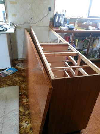 cupboard without top